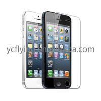 9H Hardness HD clear 0.26mm tempered glass screen protector for iPhone 5s