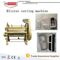 PVC Thermoformed package use die cutting machine