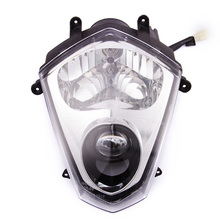Motorcycle Head Light With Turn Lamps Work Light Motorcycle Led Head Light 12V 35/35W High Power Headlamp For Dirt Bikes