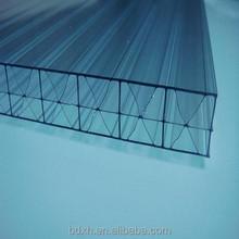ม่านบังแดดหน้าต่างอาคารเศษโพลีคาร์บอเนตแผ่นพลาสติกทนความร้อน