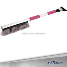 Flagged thick brush soft brush snow broom