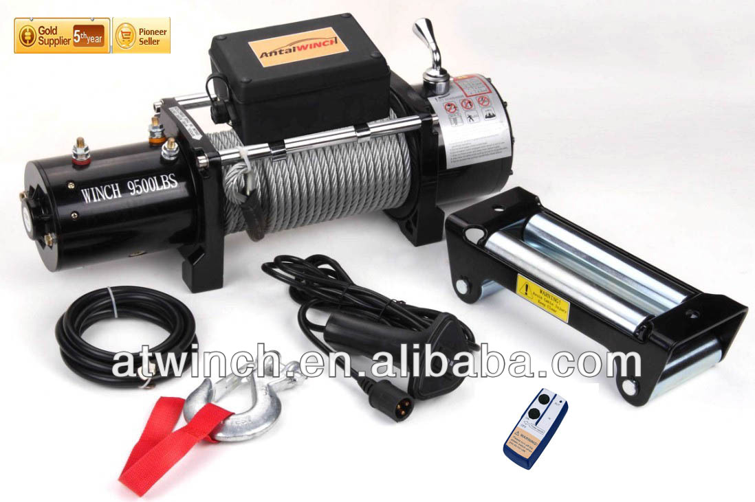 9500LBS electric capstan electric winch 12V