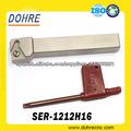 Ser- 1212h16 torno herramienta de corte rosca externa herramienta de corte