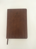 2015 top design product leather journal with logo embossed