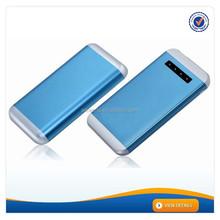 AWC233 aluminium alloy lcd screen for digital camera external battery case 12000 power bank