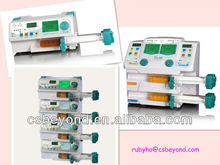 CE Certificated Syinge Pump With Single/Doulbe Channel