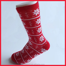 Manufactory Christmas ladies decorative sexy snowflake socks