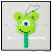 special and cute shape soft PVC car key covers