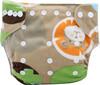 Ohbabyka washable double row snaps organic newborn cloth diaper