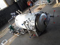 Spraying Type Double layer High temperature and pressure Sterilizing Pot/autoclave with insulating layer