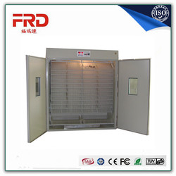 Automatic egg incubator/CE approved factory supply 4224pcs automatic egg incubator