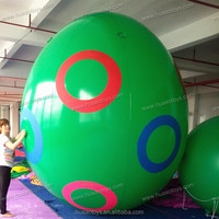 2014 new 3.5m large pvc easter egg outdoor inflatable decoration for advertising on sale
