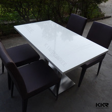Solid surface classic european style dining table