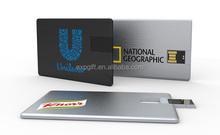 Flip Card USB Flash Drive / Business Card USB Flash Drive / Credit Card USB Flash Drive
