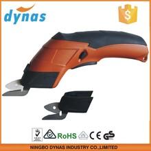 3.6 V li ion recarregável Mini tesoura elétrica para tecido