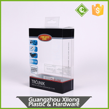 Guangzhou Customized PET/PVC/PP clear soft-crease plastic packaging box