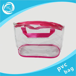 customized promotional frosted protable eva cosmetic bag
