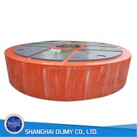 Olimy fiberglass Float Bowl fiberglass sea buoy FRP buoy