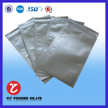 health food aluminum foil three side sealed cookie bags for food packaging