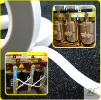 H Class Thermal Insulation Heat Resistant Fiber Glass Cloth Silicone Adhesive Tape