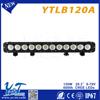 led auto headlight Newest black design 20.3inch 120W off road led light bar for trucks