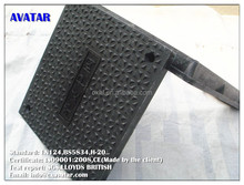 With EN124 Standard anti- corrosion hot sell from Chinese gold supplier composite frp grp smc manhole cover