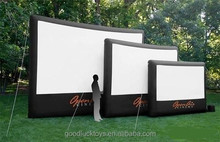 inflatable rear projection screen/ projects for digital design /inflatable projection screen