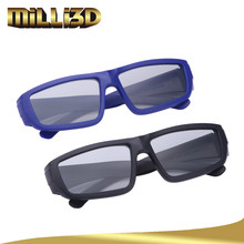custom logo high quality cinema use 3d glasses