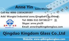 El vidrio laminado / vidrio laminado templado con pulido de bordes de ventana de cristal de la pared de vidrio