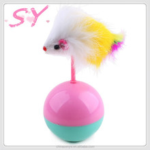 2015 New Cat Toy Mouse Ball Cat Teaser Stick Toy
