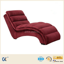 Modern home furniture red fabric sex sofa chair bed sofa