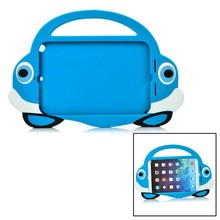 Promotional new arrival cute car cartoon Silicone cover case holder for IPAD MINI 1 / 2 / 3