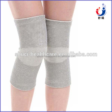 Breathable bamboo charcoal fiber knee sleeve for sports protect orthopedic knee support