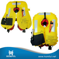 ce approved inflatable life jacket 150n automatic inflatable pfd wholesale inflatable yellow life jacket for saving