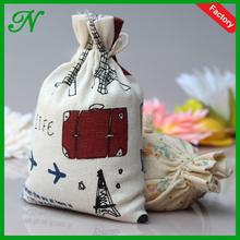 JNbags Wholesale Customized Reusable Cotton Drawstring Tea Bag Teabag