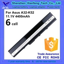 made in china laptop battery pack for Asus A32-K42 A32-K52 A42-K52