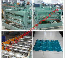 Color steel roof tile cold bending automatic stacker roll forming machine