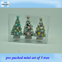 Decorative artificial mini Christmas Tree for Home and Holiday Decorating