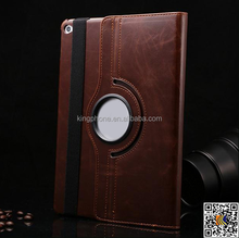 high quality product crazy Horse rotatable section leather case for iPad air2