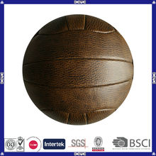 wholesale custom official size and weight world cup promotional hand sewing street manufacturer vintage soccer ball