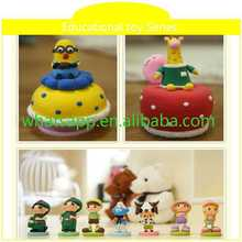 education toy different clay