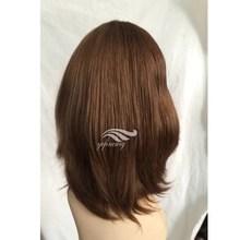 Natural Wave Natural Color Virgin European Hair Jewish Kosher Human Hair Wigs