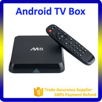 xbmc smart google mini pc ott internet amlogic m8 quad core 4k android tv box