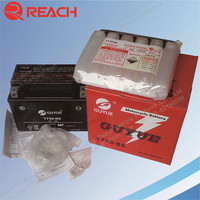 High Performence MF Motorcycle battery 12V9AH Wholesale