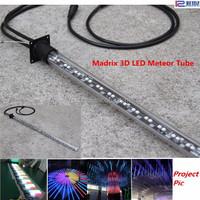 12V 24W high brightness disco bar club satge decor profesional madrix 3d dmx meteor tube disco light