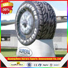 Hot sells Customized inflatable tire display for advertising