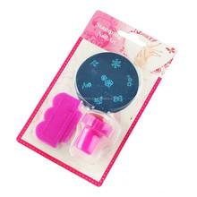 Interesting Simple Three Pieces Set Cheap DIY nail art stamp