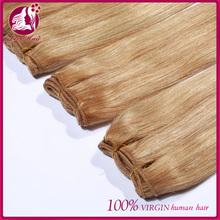 Quality factory price 6a bundle brazilian virgin hair extension women fashion wholesale hair 613 blonde hair weave