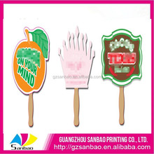 chinese high quality environmental kids plastic mini hand fan with cute cartoon