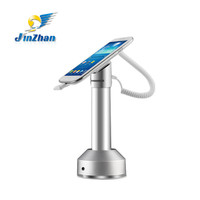 Metal magnetic holder with sensor alarm and charging, retail store display stand,security display bracket